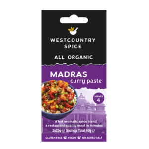 Organic Madras curry paste from Westcountry Spice