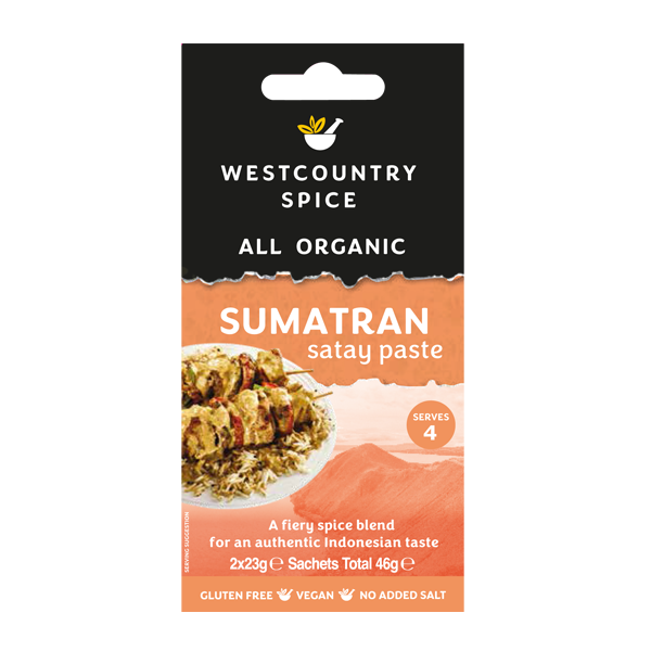 Organic Sumatran satay paste