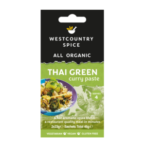 Organic Thai green curry paste from Westcountry Spice
