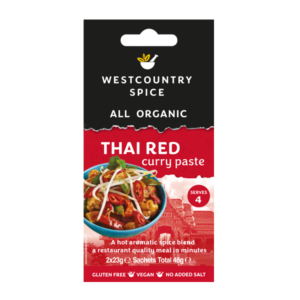 Organic Thai red curry paste from Westcountry Spice