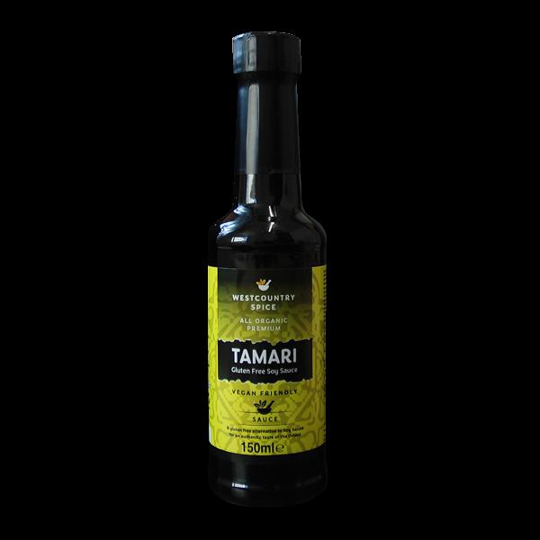 organic Tamara soy sauce