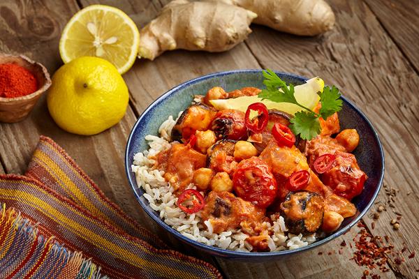 Roasted Veggie Tikka Masala