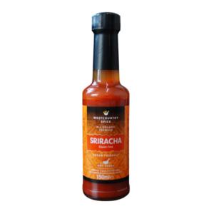 organic Sriracha hot sauce
